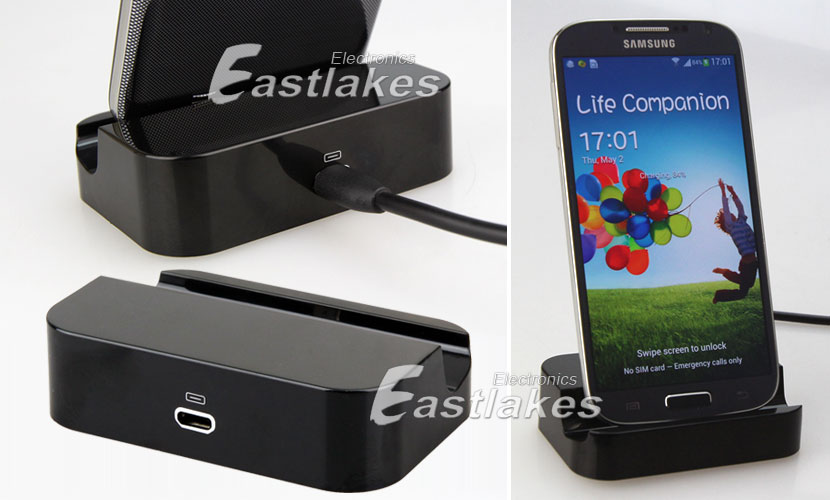 Details about USB Desktop Dock Stand Charger Cable for Samsung Galaxy ...