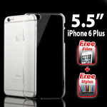 Crystal Clear Hard Back Case Cover for Apple iPhone 6 Plus 5.5�