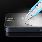 Super Scratch Resist Tempered Glass Screen Protector Film Guard for iPhone 4S 4