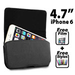 New Belt Clip Leather Flip Holster Pouch Case for Apple iPhone 6 4.7