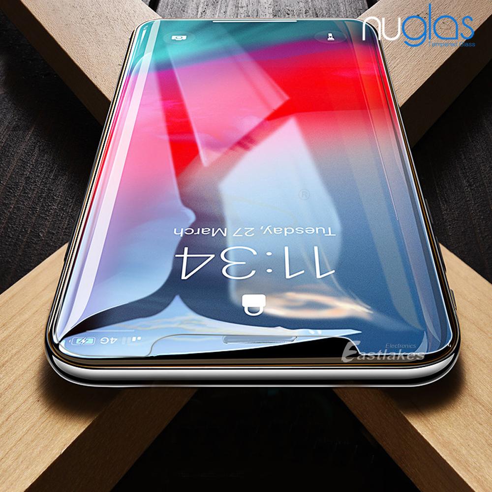 2xgenuine Nuglas Tempered Glass Screen Protector Apple Iphone Xs Max Dus 6 Plus Fullset Acc 2x Genuine Premium For