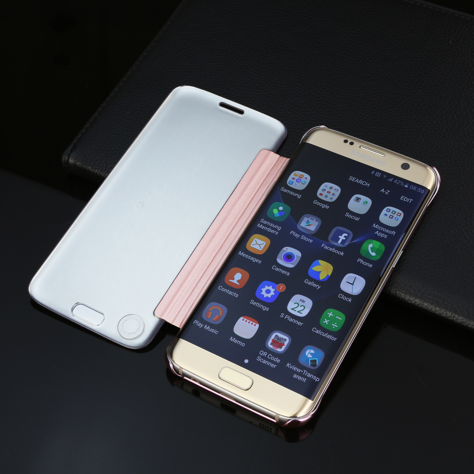 brand new f9437 d323b Premium Slim Mirror Luxury Case Cover For Samsung Galaxy S9 S8 Plus ...